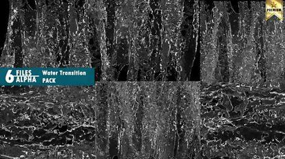 مجموعه فوتیج ترانزیشن آب Water Transition