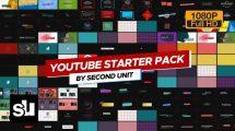 پروژه افترافکت اجزای ویدیوی شبکه اجتماعی Youtube Starter Pack
