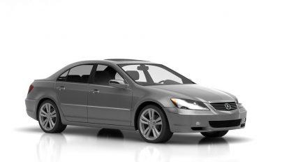 مدل سه بعدی خودرو آکورا Acura