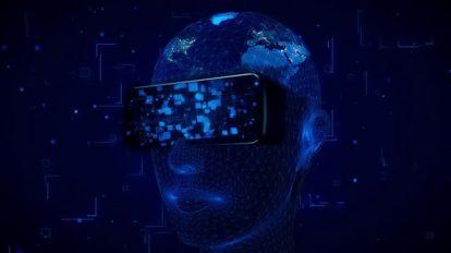 فوتیج موشن گرافیک واقعیت مجازی AI Technology VR