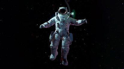 مدل سه بعدی فضانورد Astronaut
