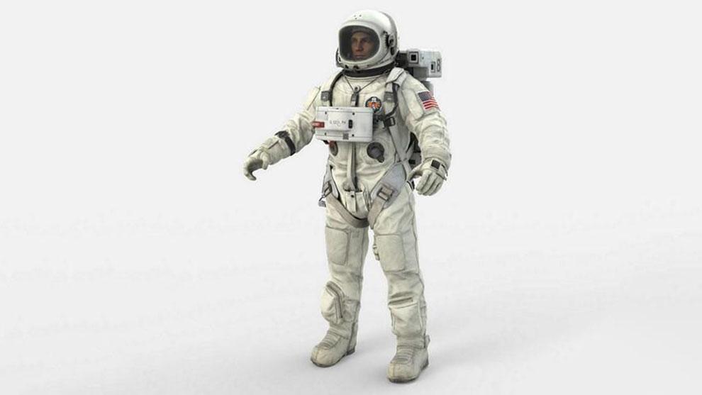 مدل سه بعدی فضانورد Astronaut 3