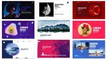 پروژه افترافکت مجموعه ویژوالایزر موزیک Audio Visualizations Pack
