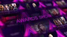 پروژه افترافکت افتتاحیه مراسم جوایز Awards Ceremony