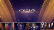 پروژه افترافکت نمایش عناوین مراسم جوایز Awards Show