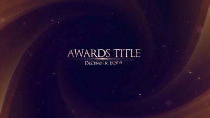 پروژه افترافکت نمایش عناوین مراسم جوایز Awards Title