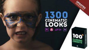مجموعه پریست رنگ سینمایی LUTs Color Presets Pack