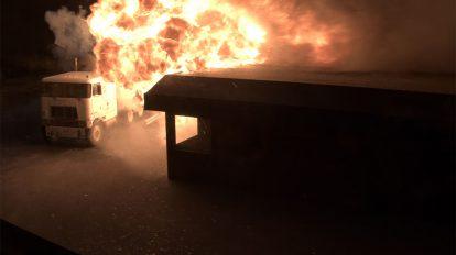 دوره آموزشی ساخت جلوه های ویژه برای انفجار کامیون در افترافکت