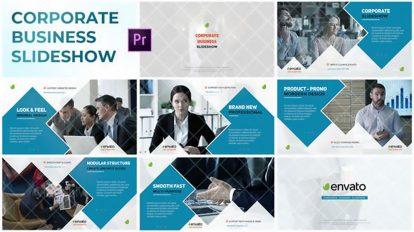 پروژه پریمیر اسلایدشو شرکتی Corporate Business Slideshow