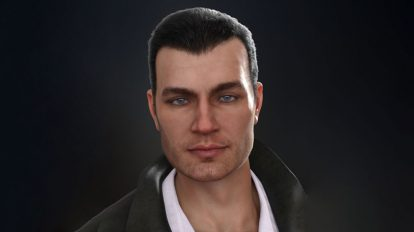 مدل سه بعدی کاراکتر مرد Gordon HD for Jonathan 8