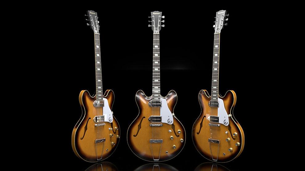 مدل سه بعدی گیتار اپیفون Epiphone Guitar