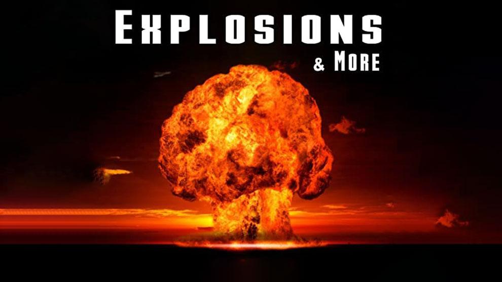مجموعه افکت صوتی سینمایی Explosions for Sound Design