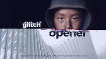 پروژه افترافکت افتتاحیه گلیچ Glitch Intro