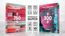 پروژه پریمیر ترانزیشن گلیچ Glitch Transitions Presets