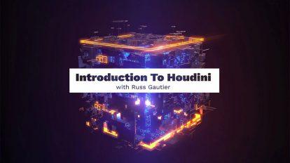 دوره آموزشی مقدماتی نرم افزار هودینی Introduction to Houdini