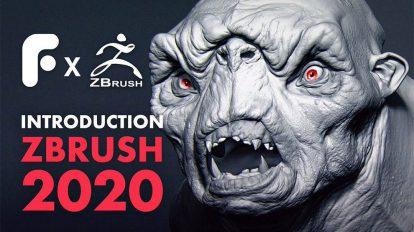دوره آموزشی مقدماتی نرم افزار زیبراش Introduction to ZBrush 2020