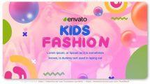 پروژه افترافکت اسلایدشو کودکان Kids Fashion Slideshow