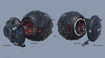 مدل سه بعدی ربات کاوشگر Machine 3D Probe