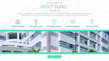 پروژه افترافکت پرزنتیشن پزشکی Medical Minimal Displays