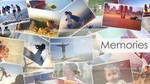 پروژه افترافکت اسلایدشو خاطرات Memories