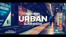 پروژه افترافکت اسلایدشو مدرن Modern Urban Slideshow