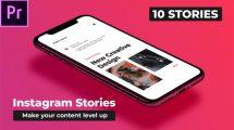 پروژه پریمیر مجموعه استوری اینستاگرام Mood Instagram Stories