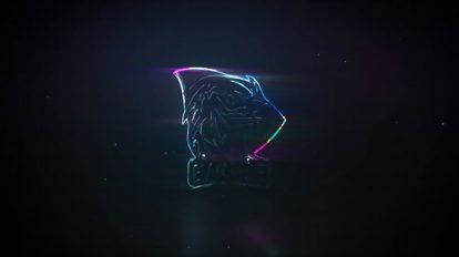 پروژه افترافکت نمایش لوگو گلیچ Neon Glass Glitch Logo Reveal