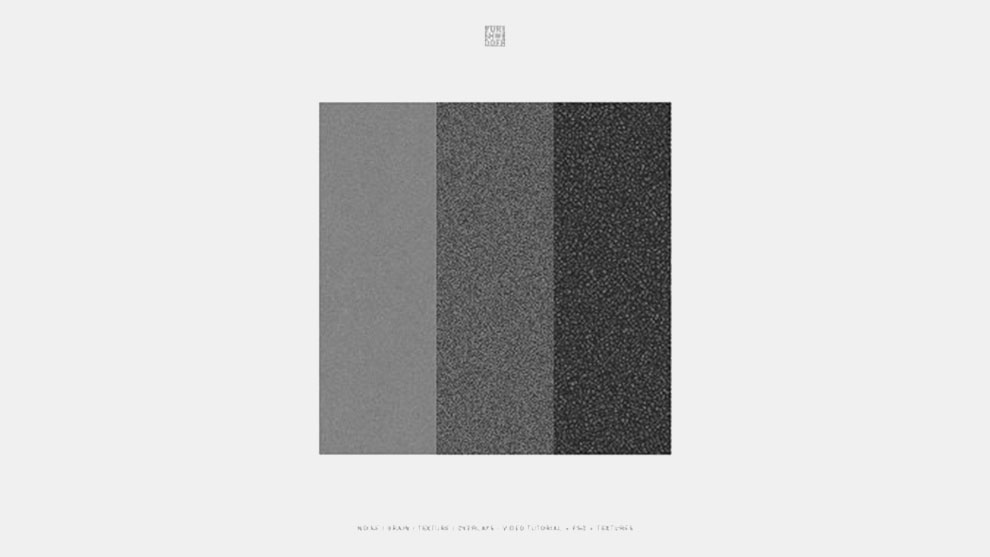 مجموعه تکسچرهای نویز و گرین Noise Grain Texture Overlays