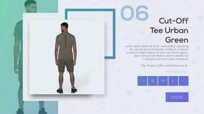 پروژه افترافکت تیزر تبلیغاتی فروشگاه آنلاین Online Shopping