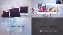پروژه افترافکت نمایش عکس Polaroid Memory