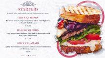 پروژه افترافکت نمایش منو رستوران Restaurant Food Menu Slides
