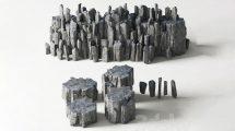 مدل سه بعدی سنگ های دریایی Rock Sea