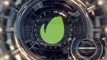 پروژه افترافکت نمایش لوگو با اجزای مکانیکی Short Mechanical Intro