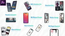 پروژه پریمیر پرزنتیشن اپلیکیشن Smartphone Presentation