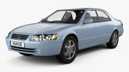 مدل سه بعدی خودرو تویوتا Toyota Camry XV20 1990