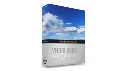 مجموعه تصاویر آسمان VHDRI Skies Pack 9