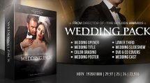 پروژه افترافکت اجزای ویدیویی عروسی Wedding Pack Two