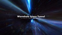 فوتیج حرکت در کرمچاله فضایی Wormhole Space 3