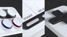 پروژه افترافکت نمایش لوگو گیمینگ 3D Gaming Channel Intro