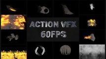 پروژه افترافکت مجموعه افکت برای جلوه های ویژه Action VFX Pack