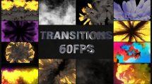 پروژه افترافکت مجموعه ترانزیشن Action VFX Transitions