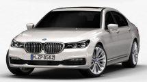 مدل سه بعدی خودرو BMW 7 Series 2016