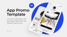 پروژه افترافکت تیزر تبلیغاتی اپلیکیشن Business Phone App Promo