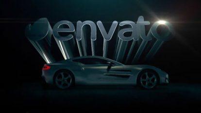پروژه افترافکت نمایش لوگو با خودرو Car Reveal