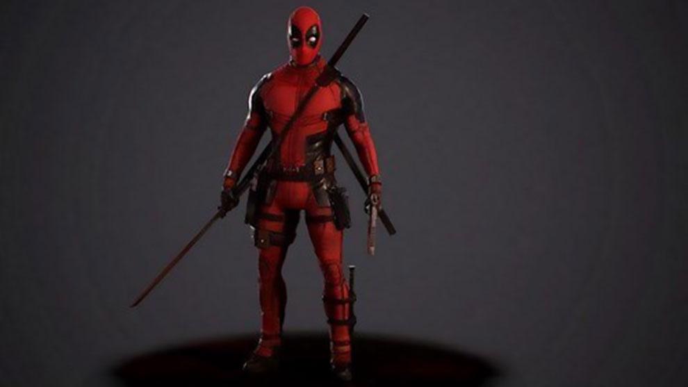 مدل سه بعدی کاراکتر ددپول Deadpool Comix Character