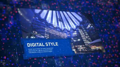 پروژه افترافکت اسلایدشو دیجیتال Digital Corporate