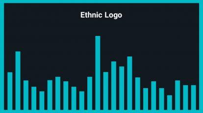 موزیک زمینه نمایش لوگو Ethnic Logo