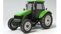 مدل سه بعدی تراکتور کشاورزی Generic Farmers Tractor