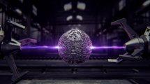 پروژه افترافکت نمایش لوگو سنگ کهکشانی Guardians Galaxy
