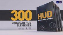 پروژه افترافکت مجموعه افکت های صفحه نمایش پیشرفته HUD Pack